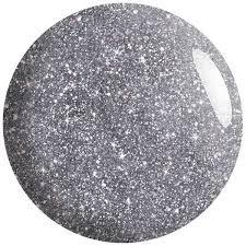 silver glitter nail polish