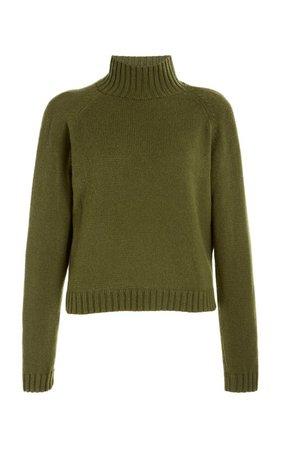 Highland Cropped Cashmere Sweater by The Elder Statesman | Moda Operandi