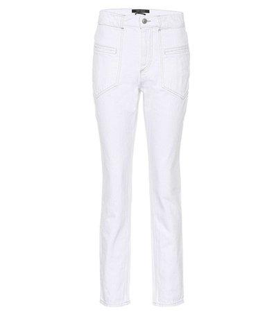 Overa skinny jeans