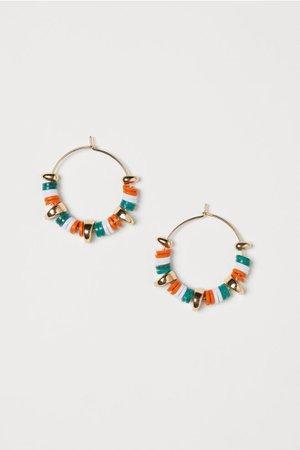 Hoop Earrings - Gold-colored - Ladies   H&M US