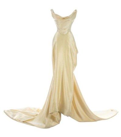 Vivienne Westwood corset 1999 bridal dress