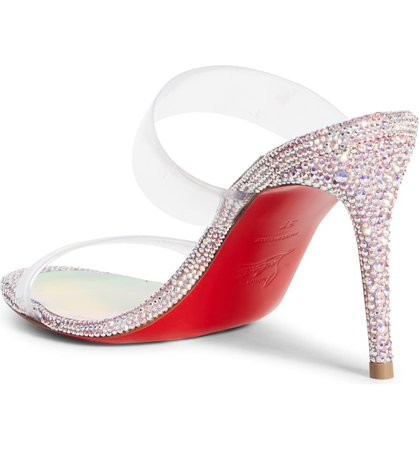 Christian Louboutin Just Strass Sandal (Women) | Nordstrom