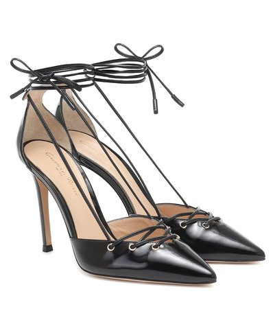 Lace-Up Leather Pumps | Gianvito Rossi - Mytheresa
