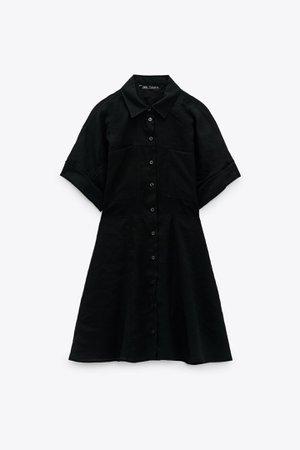 SHORT SHIRT DRESS | ZARA South Korea
