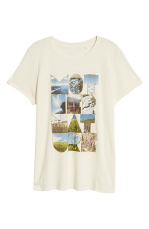 GUESS Women's Mother Nature Graphic Tee   Nordstrom