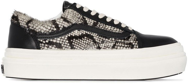 Old Skool snake-print sneakers