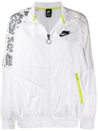 Nike Mesh Panel Bomber Jacket - Farfetch