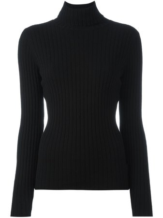 Black Turtleneck Jumper