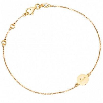 Astley Clarke Love Disc Bracelet