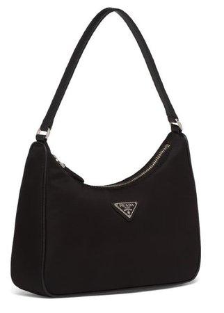 black Prada mini bag