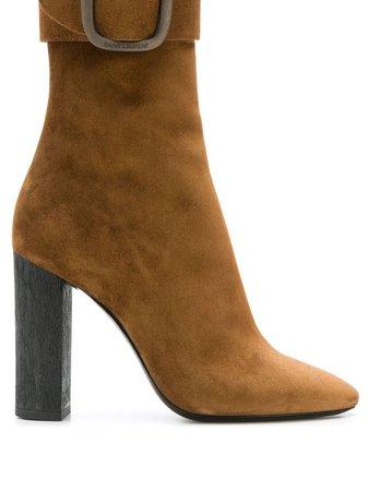 Saint Laurent Joplin 105 Ankle Boots | Farfetch.com