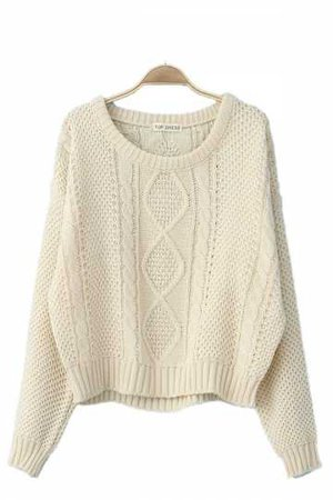 knitted beige sweater - Google Search