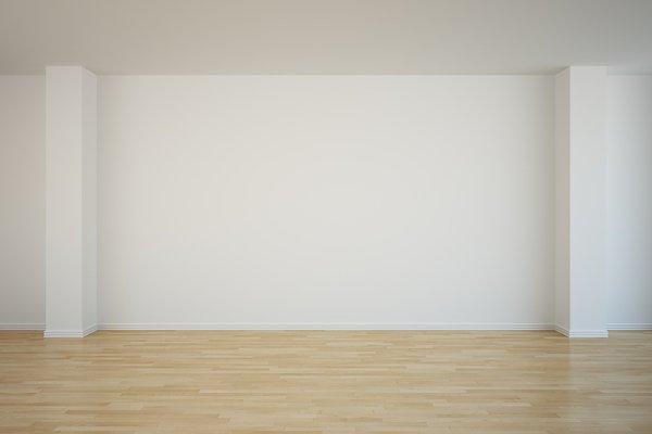empty bed room
