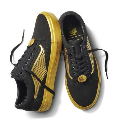 harry potter x vans golden snitch sneakers