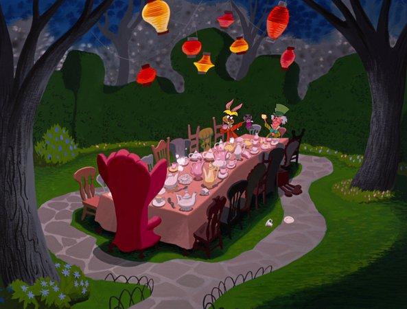 Alice in Wonderland Tea Party