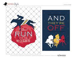 """Kentucky Derby """"And They're Off"""" Sign"""