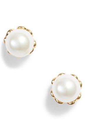 kate spade new york pearlette delicate stud earrings | Nordstrom
