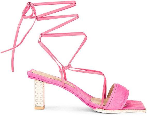 Les Sandales Adour in Pink   FWRD