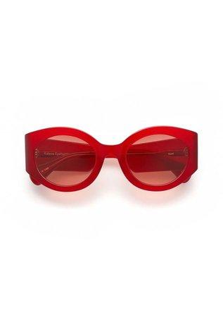 Kaleos Reed Sunglasses - Red | Garmentory