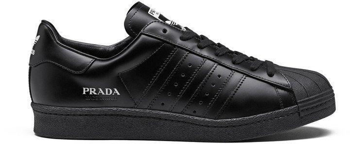 Prada for Adidas Prada for Adidas Superstar Leather Sneakers