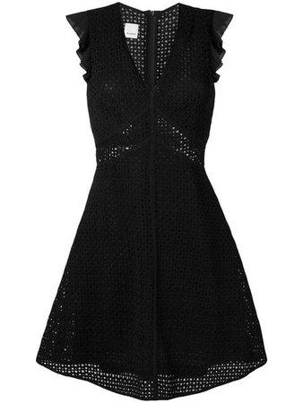 Pinko Embroidered Short Dress
