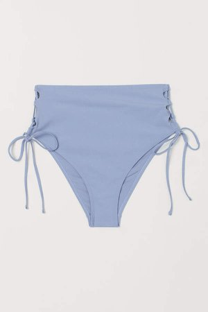 Brazilian Bikini Bottoms - Blue