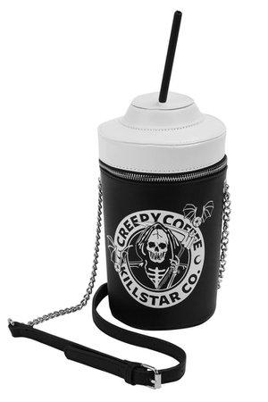 Creepy Coffee Handbag - Shop Now | KILLSTAR.com | KILLSTAR - US Store