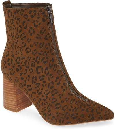Clarissa Zip Pointed Toe Boot