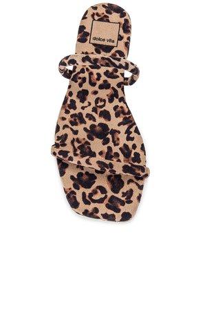Dolce Vita Lester Sandal in Light Leopard   REVOLVE