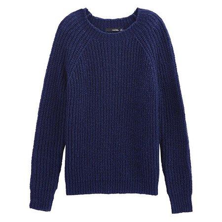 VANCL Chunky Knit Raglan Sweater Navy Blue SKU – Wholesale VANCL Chunky Knit Raglan Sweater (Women) Navy Blue SKU:182510 on ShopMadeInChina.com