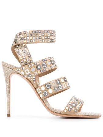 Casadei Strappy Stiletto Sandals - Farfetch