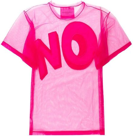The Bigger No oversized T-shirt