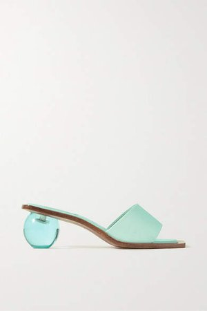 Tao Faille Sandals - Turquoise