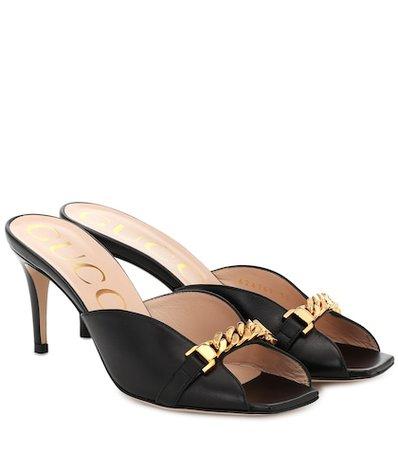 Dolce & Gabbana - Crystal-embellished suede sandals   Mytheresa