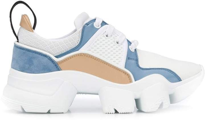 Jaw chunky-sole sneakers