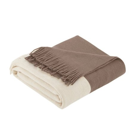 Shop Carson Carrington Ventspils Faux Cashmere Throw - On Sale - Overstock - 10014152 - Taupe