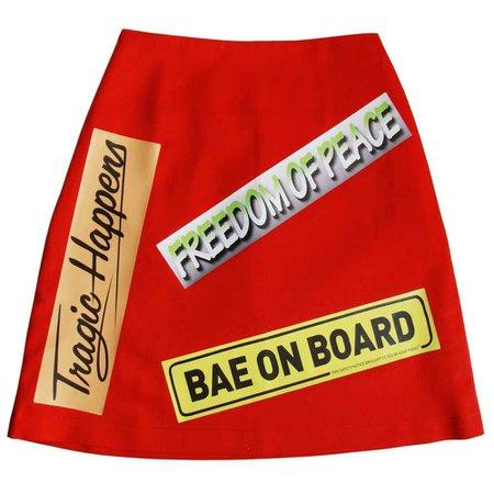 ASSK bumper sticker skirt