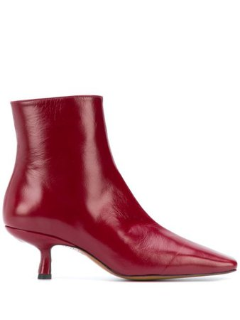 BY FAR Lange Ankle Boots - Farfetch