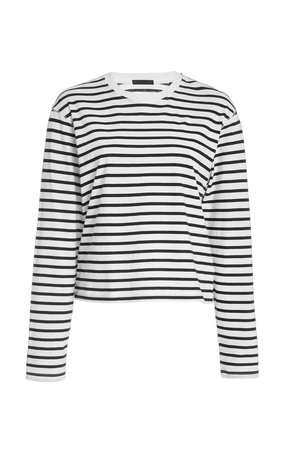 Classic Striped Cotton-Jersey T-Shirt by ATM Anthony Thomas Melillo | Moda Operandi