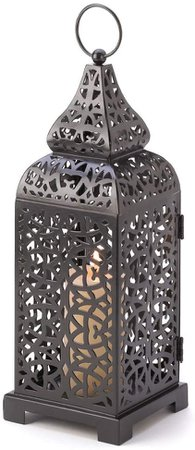 Gifts & Decor Moroccan Temple Tower Candle Holder Hanging Lantern: Amazon.ca: Home & Kitchen