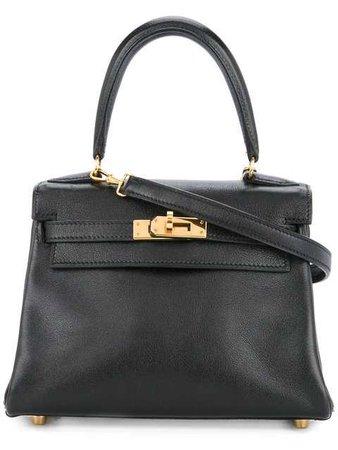Hermès Vintage Kelly 25 2way Gulliver Handbag - Farfetch