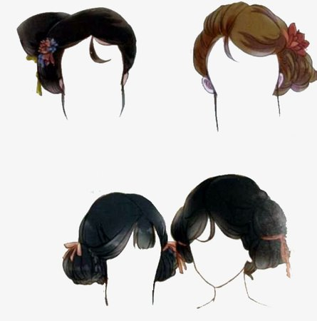 Miss And Servant Girl Hair Style, Antiquity, Decorate, Anime Hairstyles PNG Image and Clipart for Free Download
