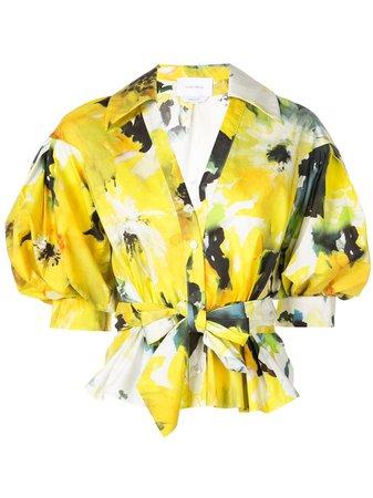 Marchesa Floral Print Blouse Aw19 | Farfetch.com