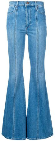 Alice+Olivia bell bottom jeans