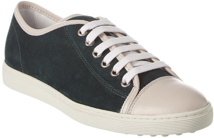TodS Suede & Leather Sneaker