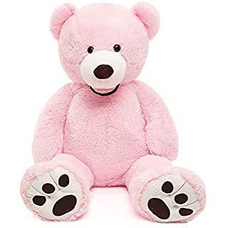 "Amazon.com: Aurora Plush Baby 12"" Yummy Pink Bear - 20507: Toys & Games"
