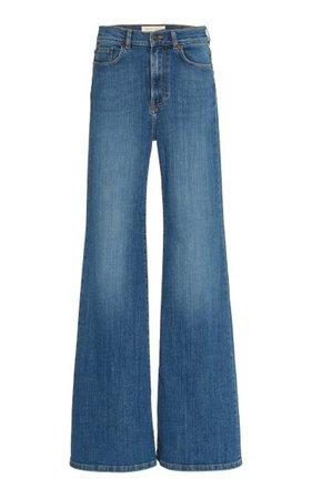 Fuji Stretch High-Rise Flared-Leg Jeans By Jeanerica | Moda Operandi