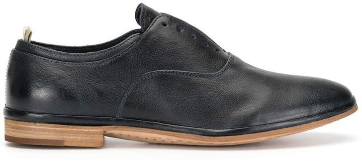California laceless oxford shoes