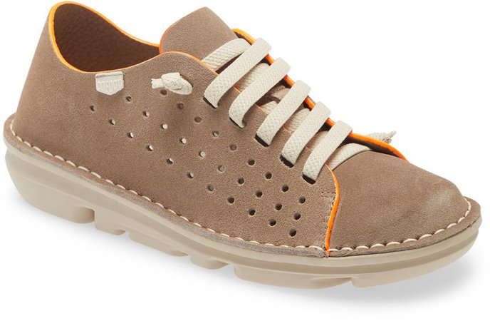 On Foot Perforated Sneaker