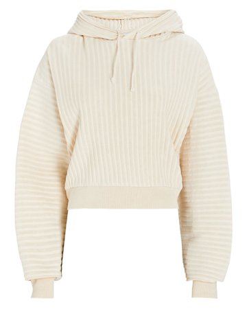 John Elliott Terry Cropped Sweatshirt | INTERMIX®